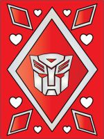 Red Autobot Valentine by srg1