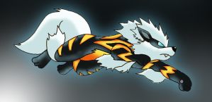 Arcanine by JamesyBrown92