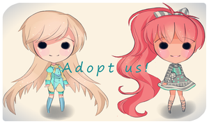 Adoptables! (Open) by PinkBeezi