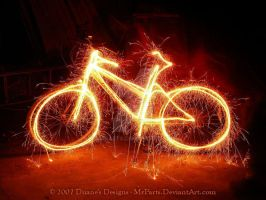 Sparkle Bike by MrParts