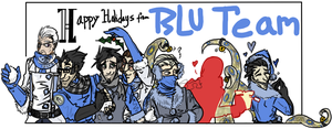 I'll Have A Blu Christmas by AgentMoore