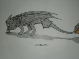 -TOOTHLESS- by Royal-Dragon