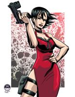 Ada Wong - Commission by EryckWebbGraphics