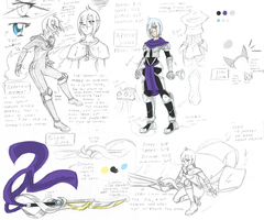 :MH: Pact Tournament Aya sketch ref by Fly-Sky-High