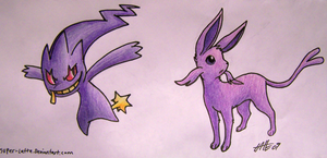 Banettespeon by Super-Latte