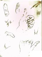hand doodles by electricjesuscorpse