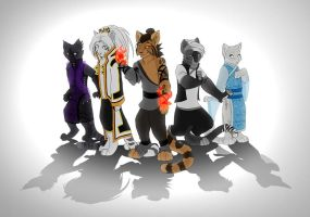 The Gang by AnnieHyena