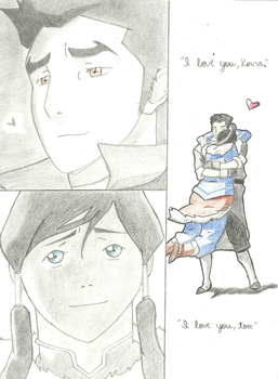 Makorra Embrace by destinyawaitsx3