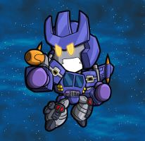 Commission - Galvatron Prime by MattMoylan