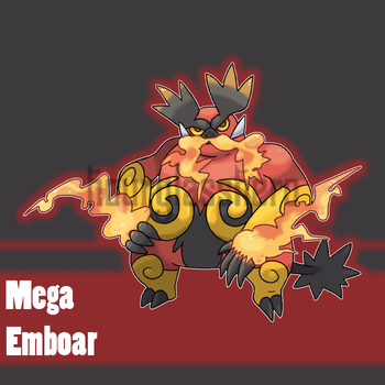 Mega Emboar (Contest Entry) by HourglassHero