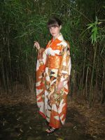 my new furisode by siren10101