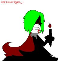 Ask Count Iggal-- by ppgblossom678