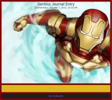 Iron Man MK XLVII Skin by Giando1611990