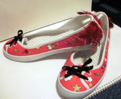 Feather fairy shoes by LinMac