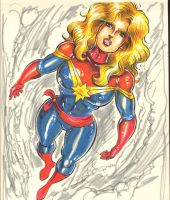 CaptainMarvel by theEvilTwin
