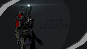 WE ARE LEGION (Mass effect 3) by toxioneer