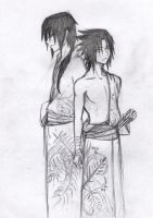 .::uchiha brothers::. by Stray-Ink92