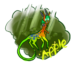 Apple by sugar-cat-candy
