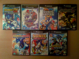 Gamecube Sonic Collection by Magic-Mouflon