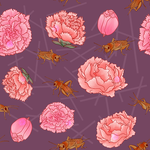 Crickets and Carnations by LunaShadow