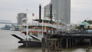 Ferry on the Mississippi by SavannahCatServal