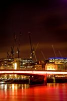 London Bridge By Night by malanski
