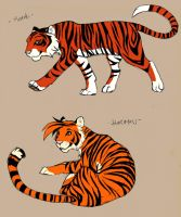 Tiger Characters part b by swift-whippet