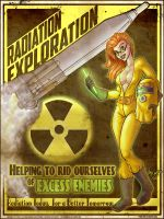 Radiation Exploration - Art by Mike Shampine by mikeshampine