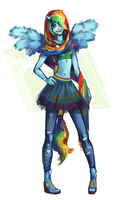 Rainbow Dash by rinaromu