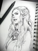 Cersei Lannister by JowieLimArt