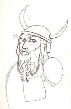 Viking Man by Siberian-Giant