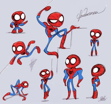 Some Spiderman by princekido