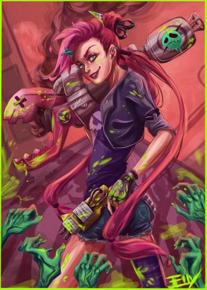 SLAYER JINX by Jell1Patty