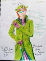 Riddler by ArachFinne