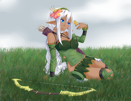 Elf Girl by valiryn