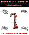 Zombie CandyCane PNG by VelmaGiggleWink