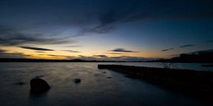 Lough Erne - Post sunset II by mole2k