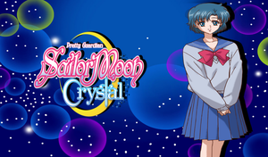 Sailor Moon Crystal Ami Wallpaper by Wizplace