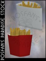 Fast Food 011 French Fries by poserfan-stock