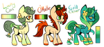 OPEN://Pony Adopts ( 2/3 Left! ) by Juvialle