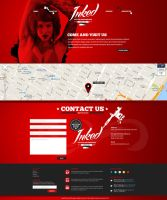 Inked Web PSD Template by odindesign