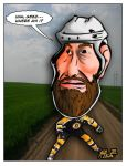 Zdeno Chara Caricature by car2nistrob