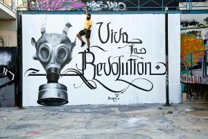 Viva La Revolution by urban-street-art