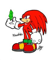 Knuckles by BlackBy