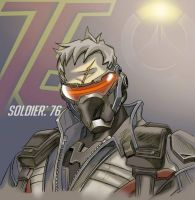 Soldier 76 by Darkness1999th