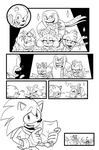 Sonic Boom #1 Off Panel by RyanJampole