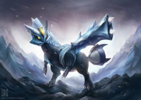 Kyurem by EternaLegend
