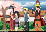 .:PC:. Family walk in Konoha! by MayaNara