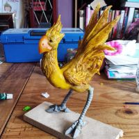 Chocobo work in progress by RPG-Creations