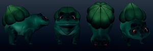 Sculptris bulbasaur by umbbe